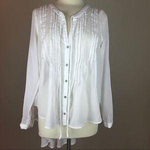 Free People Sisters of the Moon White Tunic